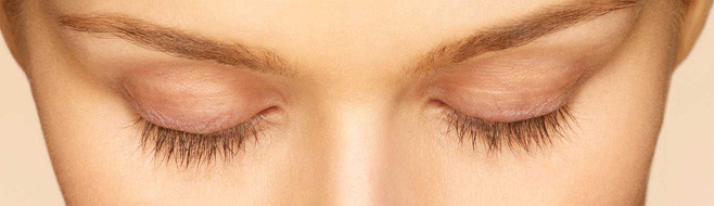 Latisse Eyelash Treatment Before and After Picture - 4 Weeks